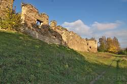 Микулинецький замок. Південна сторона