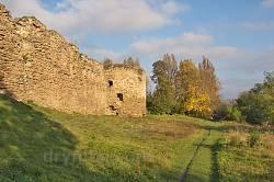Південний мур Микулинецького замку