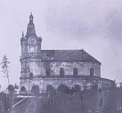 Микулинці. Костел Пресвятої Трійці у 1979 році
