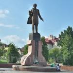 Пам'ятник Тарасу Шевченку у Дрогобичі