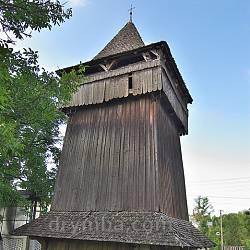 Дрогобич. Дзвіниця церкви Воздвиження Чесного Хреста