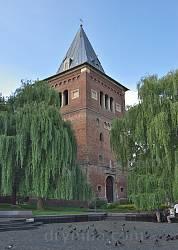 Оборонна башта-дзвіниця костелу св.Варфоломія у Дрогобичі