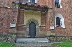 Костел св.Варфоломія у Дрогобичі. Бічний портал