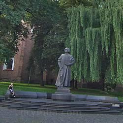 Дрогобич. Пам'ятник Юрію Дрогобичу (Котермаку)