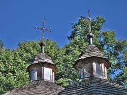 Дерев'яна церква у Черепині. Верхи