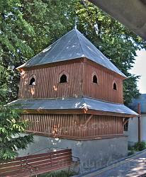 Старе Село. Дзвіниця дерев'яної церкви