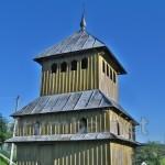 Будьків. Дзвіниця церкви Воздвиження Чесного Хреста