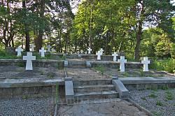 Кладбище Первой Мировой между Яновом и Страдчем