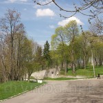 Збараж. Замковый парк