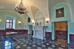 Збараж. Интерьер замкового дворца