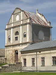 Дзвіниця бернардинського монастиря у Збаражі