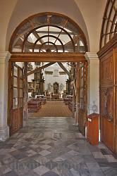 Костел св.Антонія в Збаражі. Інтер'єр