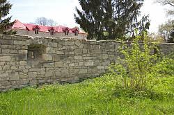 Збараж. Оборонний мур бернардинського монастиря