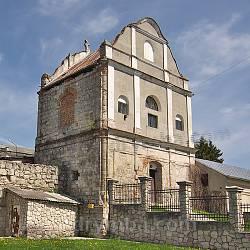 Збараж. Колокольня бернардинского монастыря