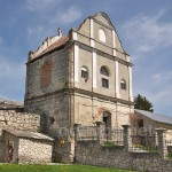 Збараж. Дзвіниця бернардинського монастиря
