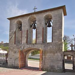 Збараж. Надбрамна дзвіниця Успенської церкви