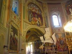 Гошівський монастир. Інтер'єр церкви
