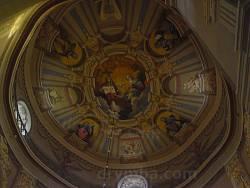 Преображенська монастирська церква у Гошеві. Розпис купола