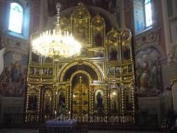 Гошівський монастир. Іконостас церкви