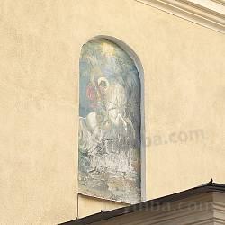 Церква св.Юрія у Бродах. Ікона над входом