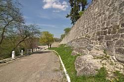 Збараж. Дорога на Замковую гору вдоль бастиона