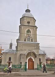 Броди. Церква Різдва Богородиці