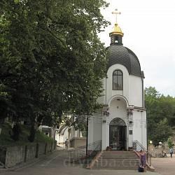 Зарваниця. Надбрамна церква Благовіщення Богородиці