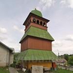 Рогатин. Деревяна дзвіниця церкви св.Юрія