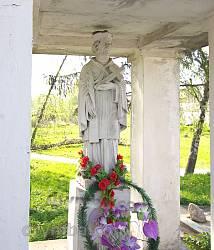 Часовня с фигурой святого в Збараже