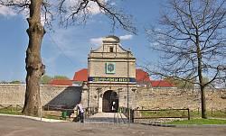 Збаражский замок. Въездные ворота