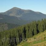 Полонина Закукул та гора Петрос