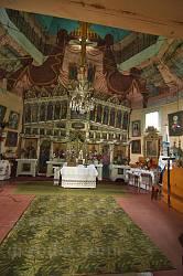 Інтер'єр церкви св.Параскеви у Буську