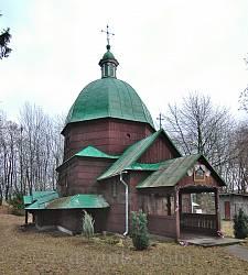 Дерев'яна церква св.Онуфрія у Буську