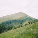 Гора Парашка. Вид с траверса г.Кобыла