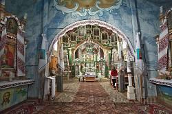 Церква св.Юрія у Батятичах. Інтер'єр