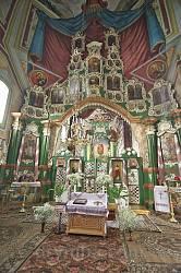 Церква св.Юрія у Батятичах. Іконостас
