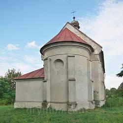 Костел св. Ядвіги у Батятичах. Вівтарна частина