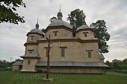 Батятичі. Дерев'яна церква св. Юрія
