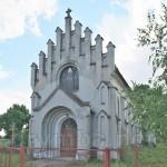 Батятичі. Фасад костелу св. Ядвіги