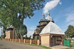 Батятичи. Комплекс деревянной церкви Собора Богородицы