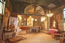 Інтер'єр костелу Благовіщення Богородиці у Тадані