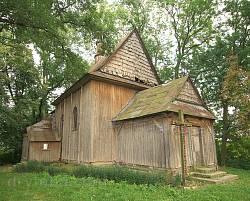 Дерев'яний костел св. Теклі у Тадані