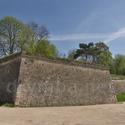 Збараж. Внешний бастион замковых укреплений