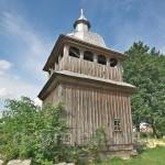 Колоденці. Дерев'яна дзвіниця церкви св. Іллі