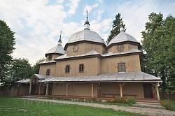 Церква св. Миколая у селі Тадані
