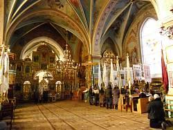 Інтер'єр храму cв. Анни в Бориславі