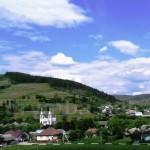 Село Нижні Ворота на Закарпатті. Загальний вигляд