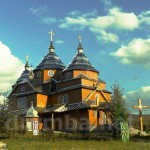 Церква Св. Євхаристії  і дзвіниця, село Климець