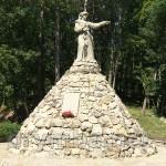 Пам'ятник Софії Хржановській біля Теребовлянського замку