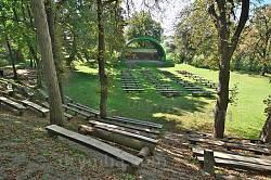 Теребовля. Літній театр у Замковому парку